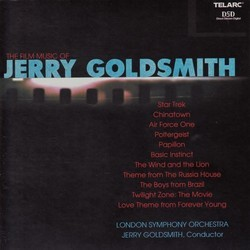 The Film Music of Jerry Goldsmith Trilha sonora (Jerry Goldsmith) - capa de CD