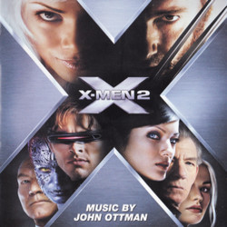 X2: X-Men United Soundtrack (John Ottman) - CD cover