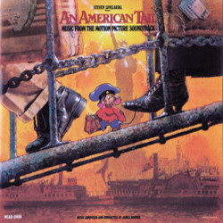 An American Tail Soundtrack (James Horner) - CD cover