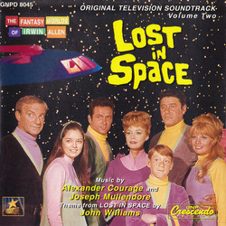 Lost in Space Volume Two Soundtrack (Alexander Courage, Joseph Mullendore, John Williams) - CD cover