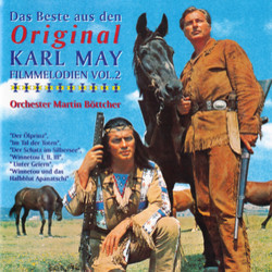 Das Beste aus den Original Karl May Filmmelodien Vol.2 Soundtrack (Martin Böttcher) - CD cover