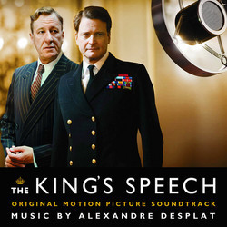 The King's Speech 聲帶 (Alexandre Desplat) - CD封面