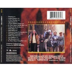 A Knight's Tale Soundtrack (Carter Burwell) - CD Trasero