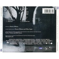 A Civil Action Soundtrack (Danny Elfman) - CD Trasero