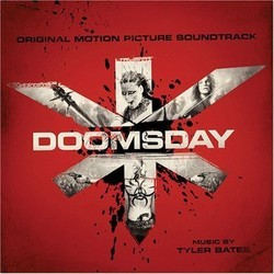 Doomsday Soundtrack (Tyler Bates) - CD cover
