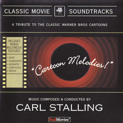 Cartoon Melodies Soundtrack (Various ) - CD cover