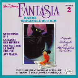 Fantasia Volume 2 Soundtrack (Various ) - CD cover