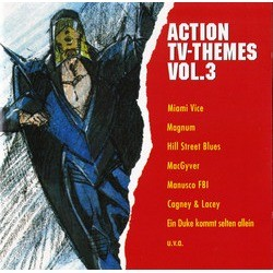 Action TV-Themes Vol.3 Soundtrack (Various ) - CD-Cover