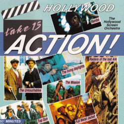Hollywood Action! Soundtrack (Various ) - CD cover