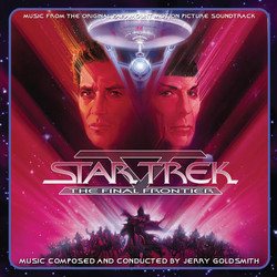 Star Trek V: The Final Frontier 声带 (Jerry Goldsmith) - CD封面