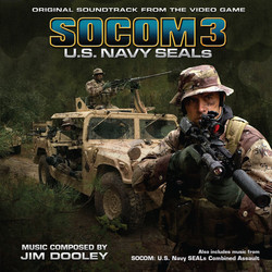 SOCOM 3: U.S. Navy SEALs / SOCOM: U.S. Navy SEALs Combined Assault Soundtrack (Jim Dooley) - CD cover