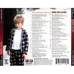 Home Alone Soundtrack (John Williams) - CD Back cover