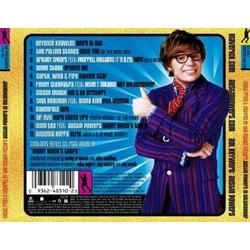 Austin Powers in Goldmember Soundtrack (Various Artists) - CD Trasero