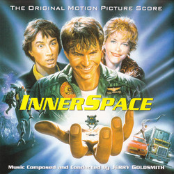 I.Q. / Innerspace Soundtrack (Jerry Goldsmith) - CD cover