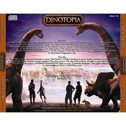 Dinotopia : Complete Original TV Score Episode I Μουσική υπόκρουση (Trevor Jones) - CD πίσω κάλυμμα