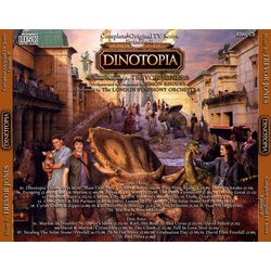 Dinotopia : Complete Original TV Score Episode II 声带 (Trevor Jones) - CD后盖
