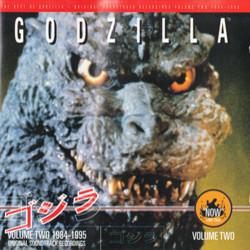 The Best of Godzilla - Volume Two 1984-1995 声带 (Various ) - CD封面