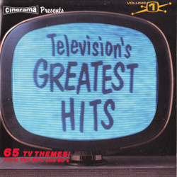 Television's Greatest Hits 声带 (Various ) - CD封面