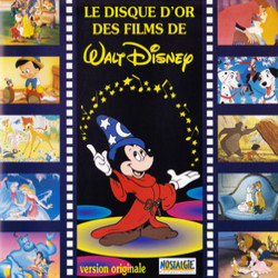 Le Disque d'Or des Films de Walt Disney Trilha sonora (Various ) - capa de CD