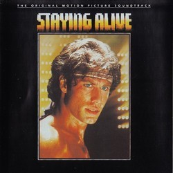 Staying Alive Soundtrack (Various Artists, Bee Gees) - CD cover