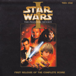 Star Wars Episode I: The Phantom Menace Bande Originale (John Williams) - Pochettes de CD