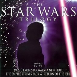 The Star Wars Trilogy Soundtrack (John Williams) - CD cover