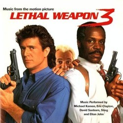 Lethal Weapon 3 Soundtrack (Michael Kamen) - CD cover