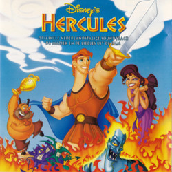 Hercules Soundtrack (Alan Menken) - CD cover