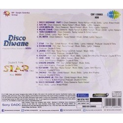 Disco Deewane / Star Soundtrack ( Biddu) - CD Back cover