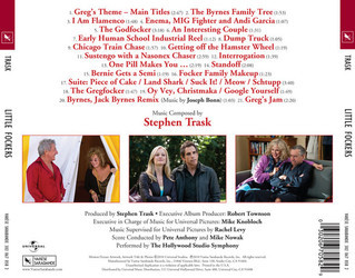 Little Fockers Soundtrack (Stephen Trask) - CD Trasero