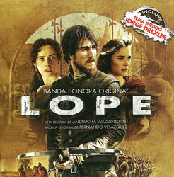 Lope Soundtrack (Fernando Velázquez) - CD cover