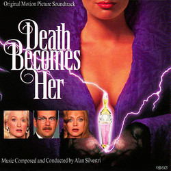 Death Becomes Her Soundtrack (Alan Silvestri) - CD cover