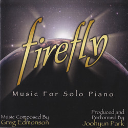 Firefly : Music For Solo Piano Soundtrack (Greg Edmonson, Joohyun Park) - CD cover