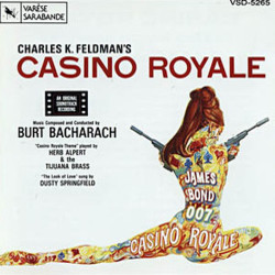 Casino Royale Soundtrack (Herb Alpert and the Tijuana Brass, Burt Bacharach, Dusty Springfield) - CD cover