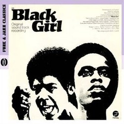Black Girl Soundtrack (Various Artists, Ed Bogas, Ray Shanklin) - CD cover