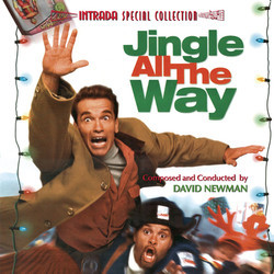 Jingle All the Way Colonna sonora (David Newman) - Copertina del CD