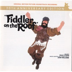 Fiddler on the Roof Soundtrack (Jerry Bock, Sheldon Harnick) - CD cover