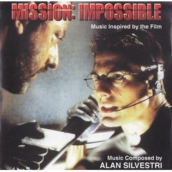 Mission: Impossible / The Delta Force Μουσική υπόκρουση (Alan Silvestri) - Κάλυμμα CD