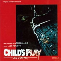 Child's Play Soundtrack (Joe Renzetti) - CD cover