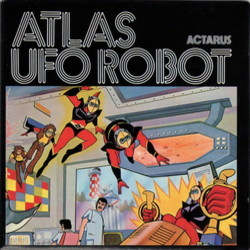 Atlas Ufo Robot Soundtrack (Various Artists) - CD cover