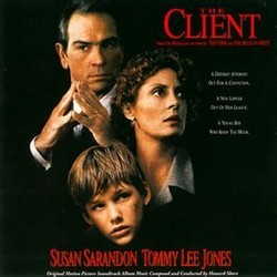 The Client Soundtrack (Howard Shore) - CD cover