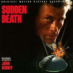 Sudden Death Soundtrack (John Debney) - CD cover