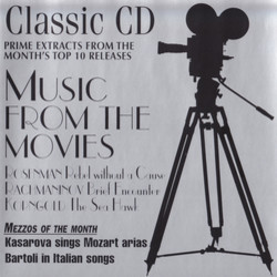 Classic CD : Music From The Movies Soundtrack (Various Artists, Erich Wolfgang Korngold, Leonard Rosenman) - CD cover