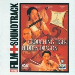 Crouching Tiger, Hidden Dragon サウンドトラック (Tan Dun) - CDカバー