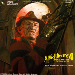 A Nightmare on Elm Street 4: The Dream Master Soundtrack (Craig Safan) - Carátula