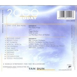 2000 Today Soundtrack (Tan Dun) - CD Back cover
