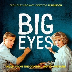 Big Eyes Soundtrack (Various Artists, Danny Elfman) - Carátula