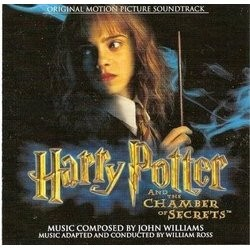 Harry Potter and the Chamber of Secrets Soundtrack (John Williams) - CD cover