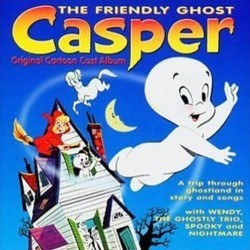 Casper, the Friendly Ghost Soundtrack (Various Artists) - CD cover