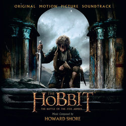 The Hobbit: The Battle of the Five Armies Soundtrack (Howard Shore) - Carátula